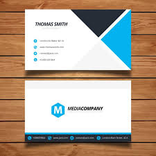 Minimal Business Card Designs Modern Minimal Business Card Template Vector Free Download