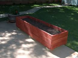 elevated cedar planter box plans best way to do gardening with