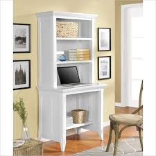 Compact Desk With Hutch Altra Furniture Amelia Desk With Hutch In White Traditional Small