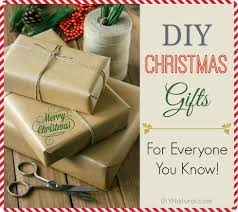 Homemade Christmas Presents by Diy Christmas Gifts For Everyone You Know