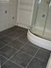 Small Black And White Tile Bathroom Black Tile Flooring Black Tiles U2013 2 In Same Layout With Glass