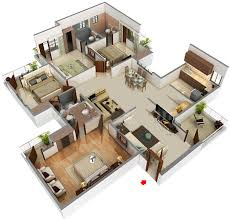 2000 Sq Ft House Plans 2 Story 3d 2017 Including Storyalso Modern 2 Story House Plan 3d