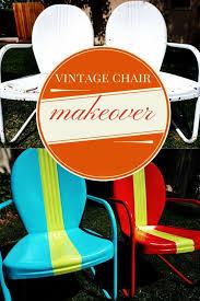 Outdoor Metal Furniture by Best 25 Vintage Metal Chairs Ideas On Pinterest Vintage Patio