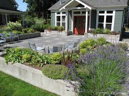 Stone Patio Design Ideas by Garden Adventures For Thumbs Of All Colors Patio Design Ideas