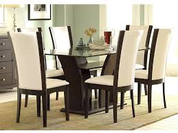 homesullivan bedford black faux leather dining chair set of 4