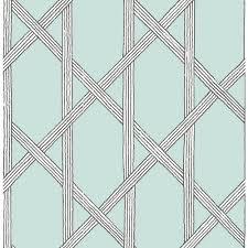 kenneth james mandara light blue trellis wallpaper sample 2671