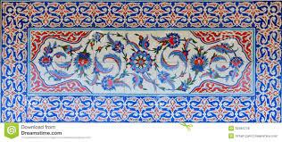 Ottoman Tiles Historical Turkish Ottoman Tiles Stock Photo Image Of Mosaics