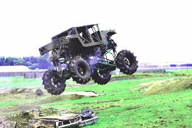 mega truck chassis the punisher a canadian mega truck wheels deep