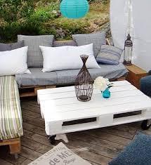 canapé exterieur palette 11 idées de mobilier de jardin en palettes