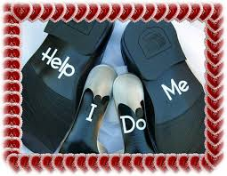 wedding help wedding shoe decals grooms only set of help me 2232109 weddbook