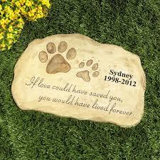 memorial stones for dogs catalog spree pet memorial garden lillian vernon dogs