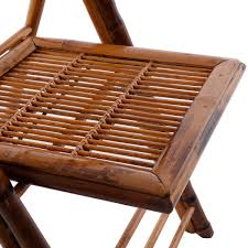 Outdoor Chairs Set Of 2 Patio Garden Bamboo Folding Chairs Outdoor Chairs