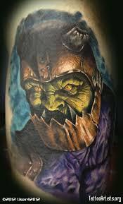 ogre trapjaw portrait tattoo by gary parisi wci ch tattoo