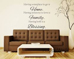 compare prices on family customized wall sticker quotes online home family blessing family quote wall stickers decorative diy custom colors family home lettering quote wall