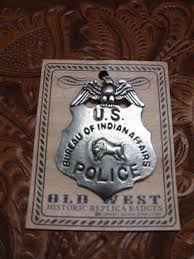 us bureau of indian affairs colorado silver badge u s bureau of indian affairs