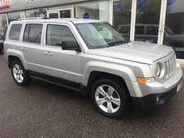 orange jeep patriot used jeep patriot suv 2 2 crd limited station wagon 4x4 5dr in