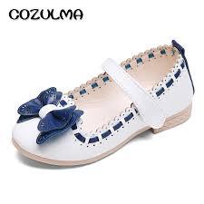 cozulma 2017 spring summer child girls sandals kids girls bow tie