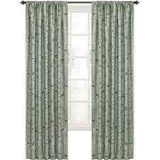 Style Selections Thermal Blackout Curtains Shop Style Selections Roberta 84 In L Solid Blue Thermal Rod