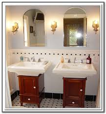 under pedestal sink storage cabinet under pedestal sink storage cupboard sink and faucets home