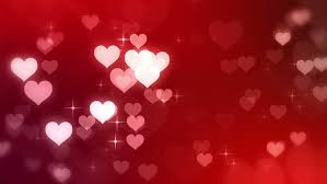 Video Backdrops Glowing Heart Party Seamless Looping Motion Background With