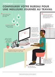 position assise bureau avez vous une bonne position au bureau infographie