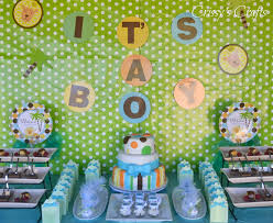 unique baby shower themes for boys interior design awesome baby shower decorations monkey theme boy