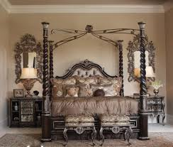 design wood canopy bed frame queen andrea outloud