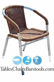 commercial outdoor bar stools mojave commercial outdoor aluminum tan resin wicker chair bar