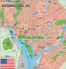 Map Of Washington by Map Of Washington Dc United States Map In The Atlas Of The