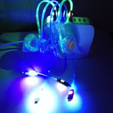 Light Up Iphone Charger Buy Invi St Tm Iphone 5 Led Charger Light Up Charging Cable
