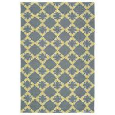 Yellow And Gray Outdoor Rug Gray Outdoor Rugs Rugs The Home Depot