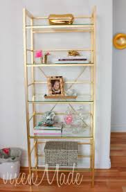furniture home perfect gold metal bookcase on ikea bookcase