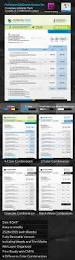 professional invoice indesign template set by graphicartist