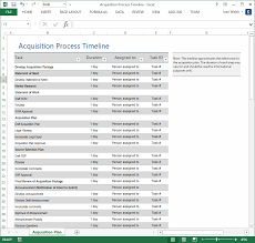 Windows Excel Templates Acquisition Plan Template Ms Word Excel