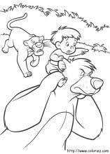 jungle book 2 coloring pages coloring book