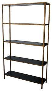 Reclaimed Wood And Metal Bookcase Bookcase Wood And Steel Library Shelving Steel And Wood