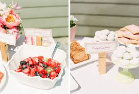 Backyard Bridal Shower Ideas A Girly Pink Backyard Bridal Shower By Connie Whitlock Photography