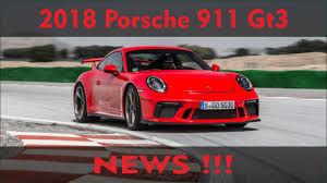 porsche gt3 reviews specs u0026 prices top speed 2018 porsche 911 gt3 release date price and specs youtube