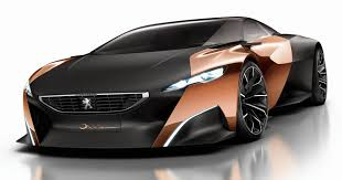 peugeot onyx oxidized peugeot car models at paris motor show 2012