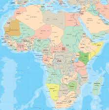 Algeria World Map Political Map Of Africa