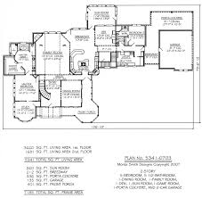 5 Bedroom Floor Plans 2 Story Plan No 5341 0703