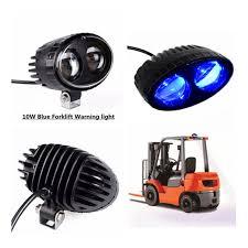 blue warning lights on forklifts 12pcs forklift safety blue light led work light 10w 12 48v dc led