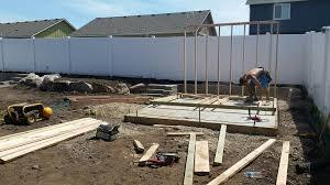 dream backyard project under way u2013 hayden homes