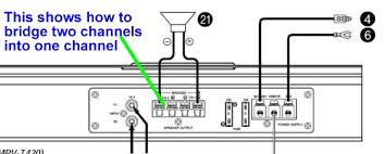 car amplifier wiring diagram carlplant