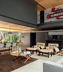 modern wood home design wood house interior with architectural glass modern