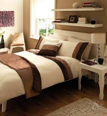 Chocolate Bed Linen - 5pc embroidered bed in a bag duvet cover set complete quilt