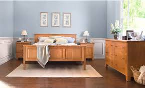 Country Bed Sets American Country 1 Bedroom Set Vermont Woods Studios