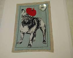 french bulldog digital paper bulldog scrapbook dog paw