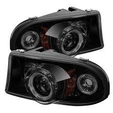 dodge dakota fog light install 97 04 dodge dakota durango angel eye halo led projector