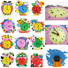 compare prices on clock crafts for kids online shopping buy low